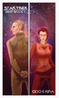 Star Trek DS9 Odo and Kira