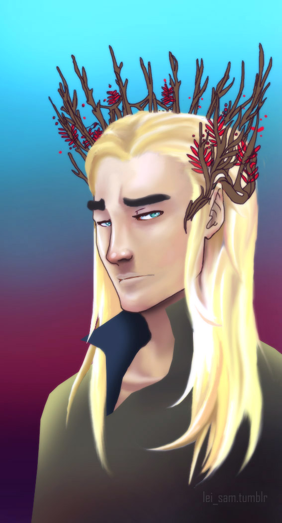 Thranduil by Lei-sam