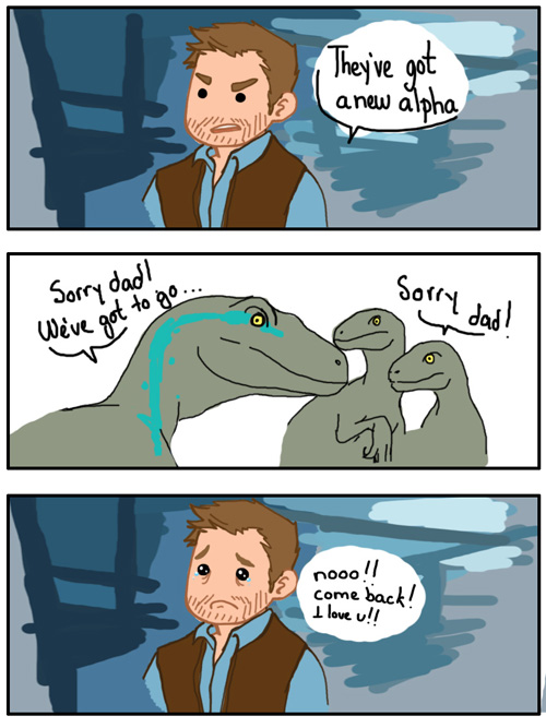 Jurassic World by Lei-sam