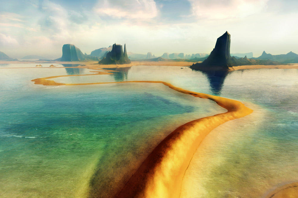 Path to Paradise 1.5x1.0 by adit