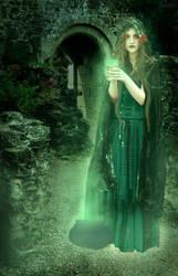 Oak Witch by cutieloli