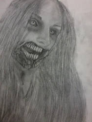 Zombie self-portrait