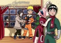 Naruto Christmass by xianartman