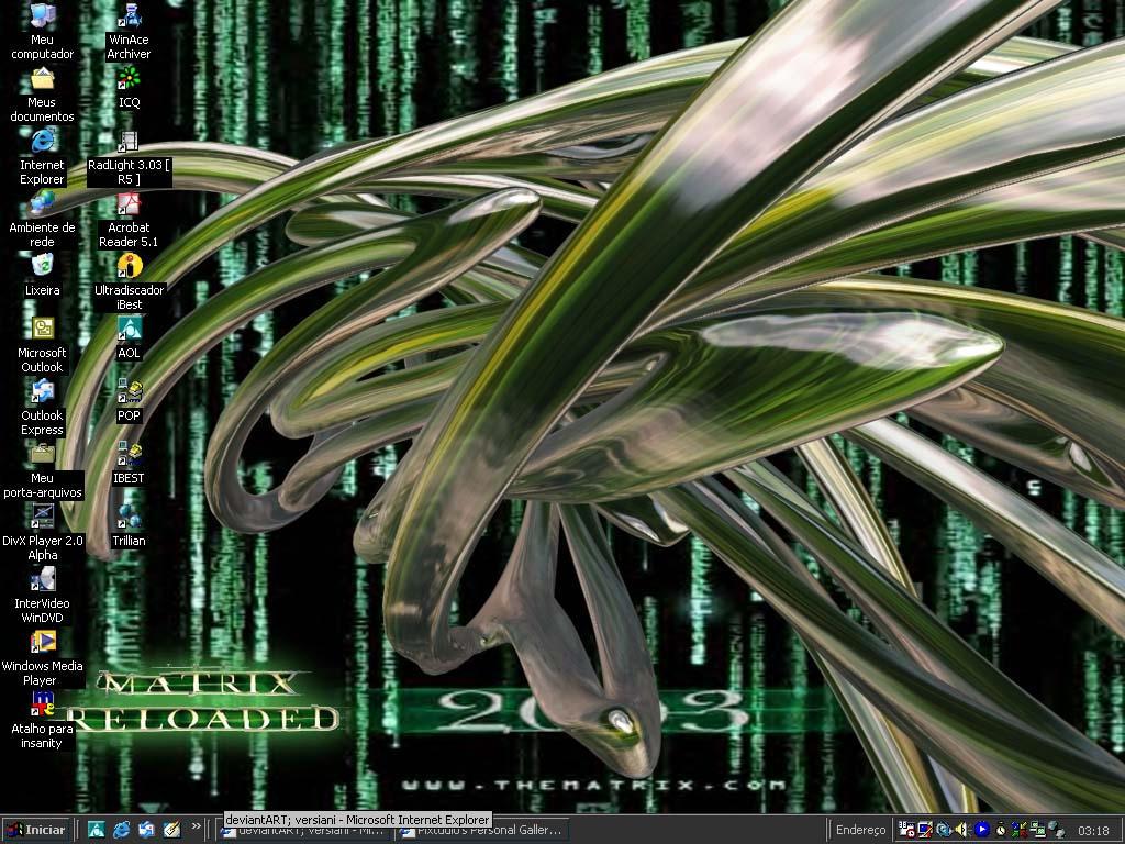 MatrixDesktop by versiani