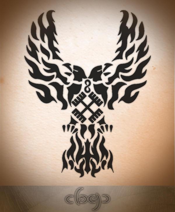 final tribal eagle 39 s tatto by warrior2001 on deviantart. Black Bedroom Furniture Sets. Home Design Ideas