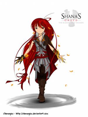 Shana's Creed by Chemegou