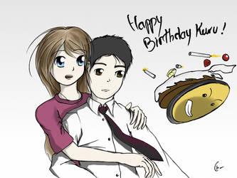 Kuru's birthday by Chemegou