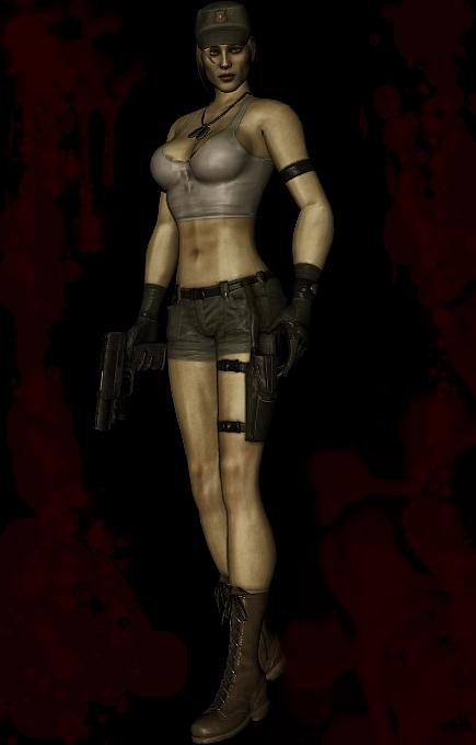 Sonya Blade Mortal Kombat 9 Alternate Costume