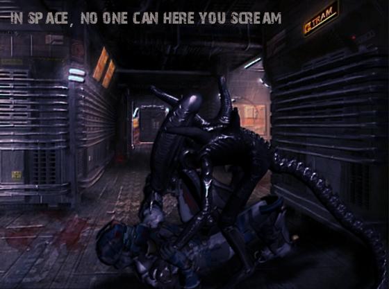 Aliens vs Issac by Jill-Valentine666