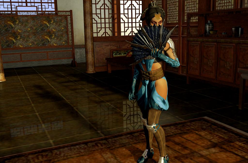 Mortal Kombat X Kitana by Jill-Valentine666