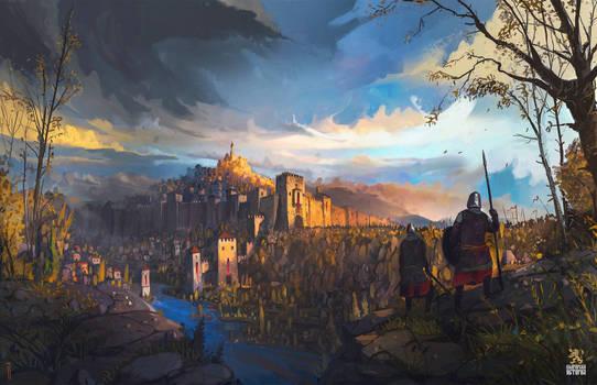 The Battle of the Balkans - Tsarevets Fortress