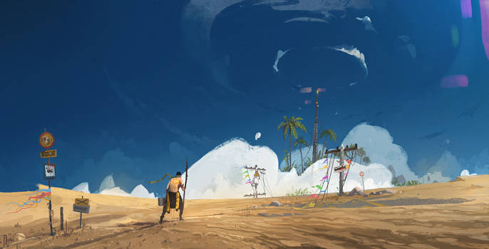 Dune's peaks