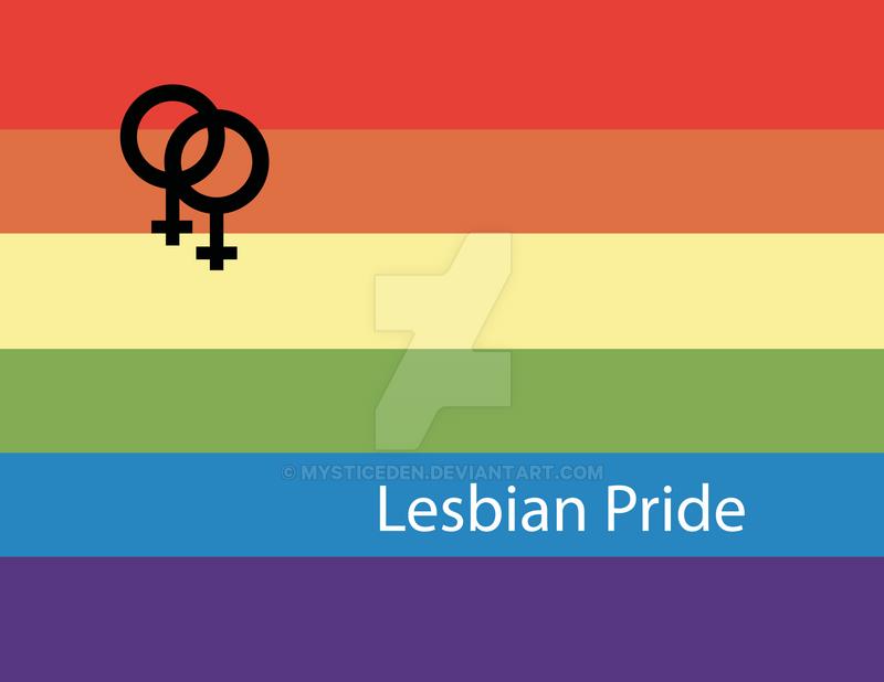 Lesbian Pride by MysticEden
