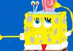 SpongeBob SquarePants and Gary the Snail by DjordjeCvarkov