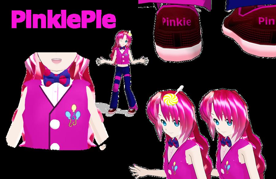 MLP Pinkiepie MMD by MoonTheBlueNeko