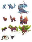 fakemon pixels