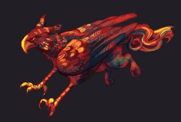 Flowy Griffin by astyrra