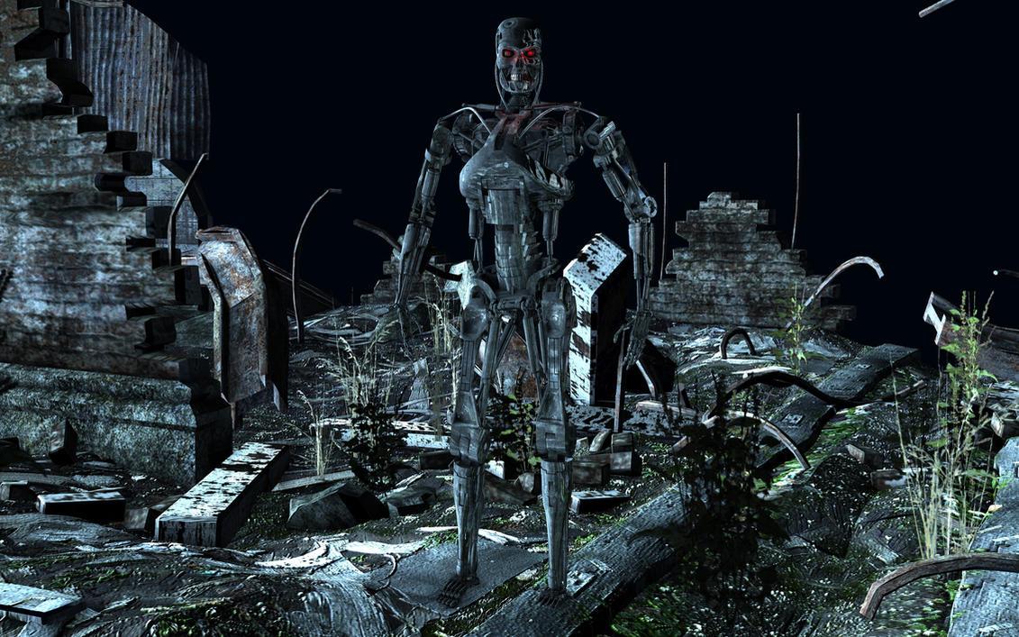 T-800 Endoskeleton by Tigersan