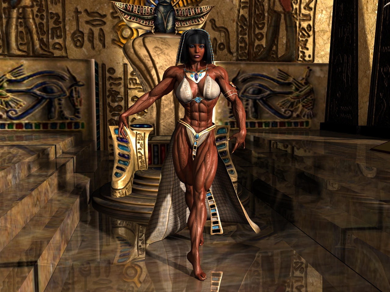 Nefertete by Tigersan