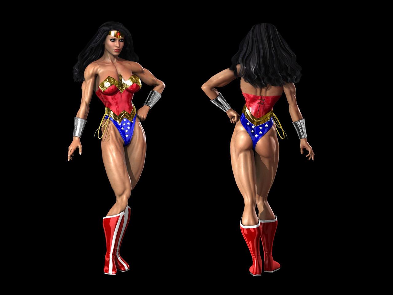 Wonder woman by Tigersan