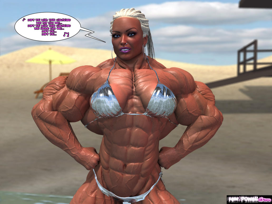 3d animated muscle females porn video