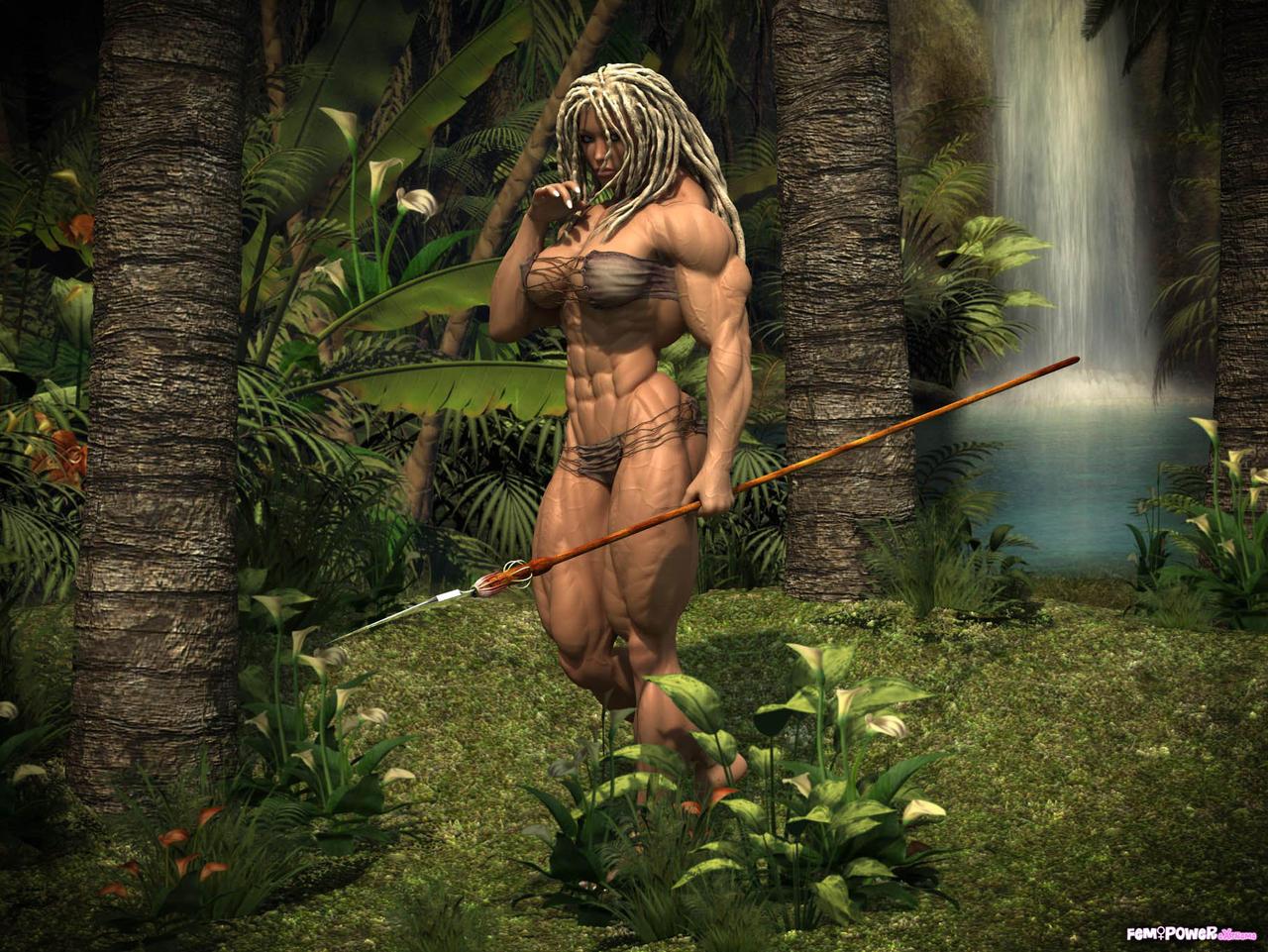 nude erotic jungle art photos