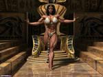 Kneel before your queen!!!