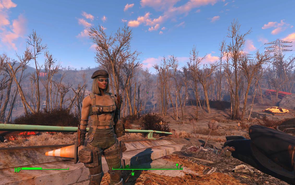 Fallout 4 Mod: Mass Effect EDI HD FollowerandArmor by