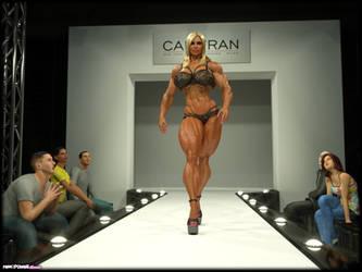 Michelle B Catwalk by Tigersan