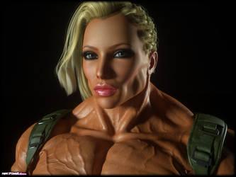 Jane Rambo Gorgeous face by Tigersan