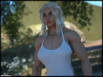 Daenerys in the shadow... by Tigersan