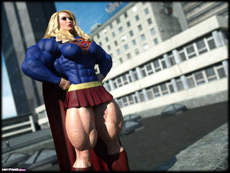 Super Girl BIG by Tigersan