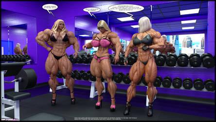 3 Blondes by Tigersan