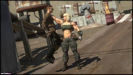 Mia Steelfist and a Raider