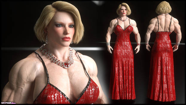 Catherine Lennox Red Dress Outfit
