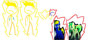 The Super Elasticos VS The evil Pegasus