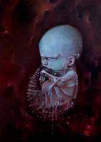 Cosmic Birth by nickbleb