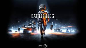 ME GUSTA 3 with Battlefield 3 logo