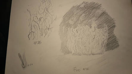 DDC #9 Fire sketches by Chenjox