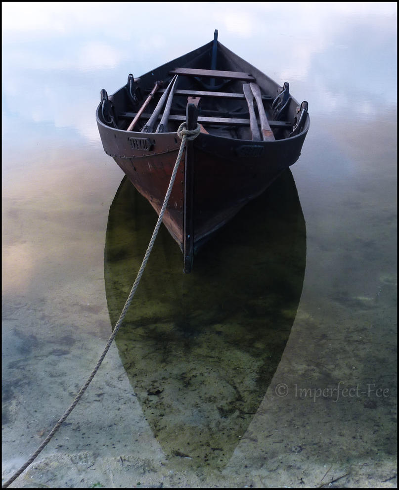 Viking's Floating Boat by Ilmatarja