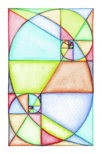 Fibonacci Spiral Art by Grwobert on DeviantArt