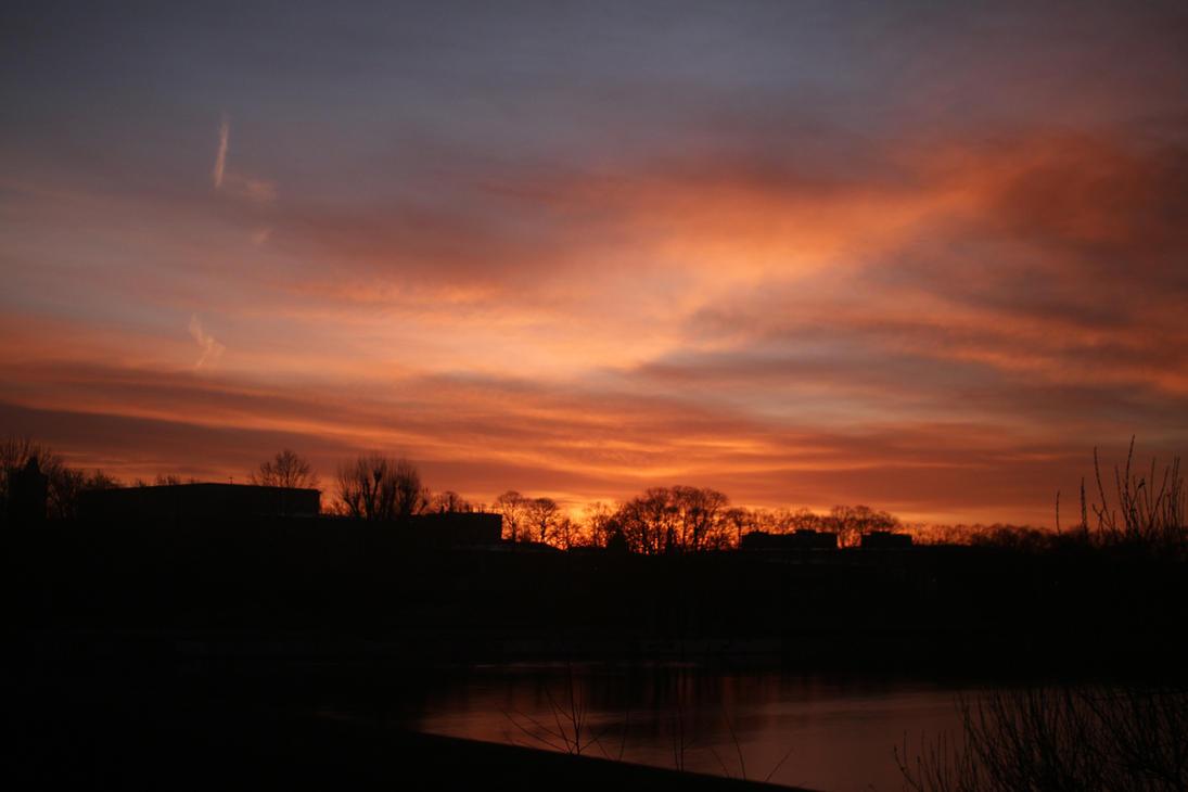 Sky in the Morning #1 by UrsusVanDraco