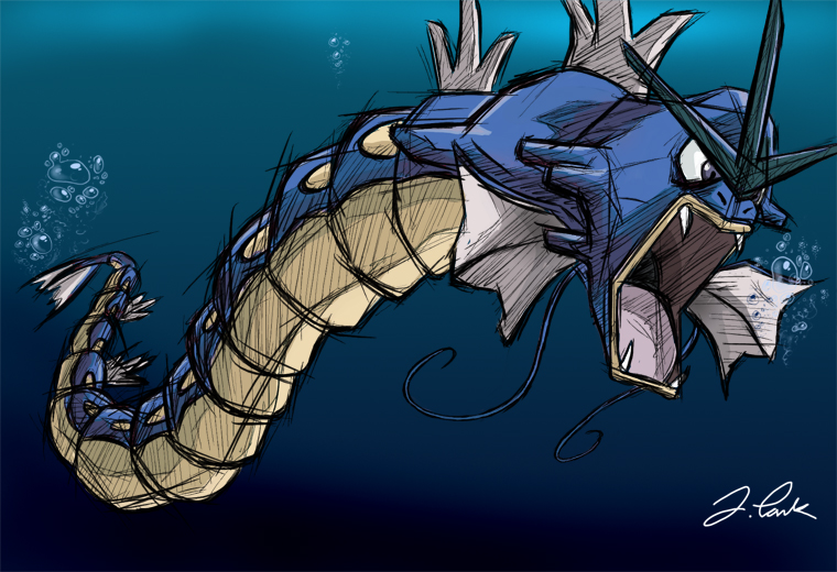 Original Gyarados by pokemon-master