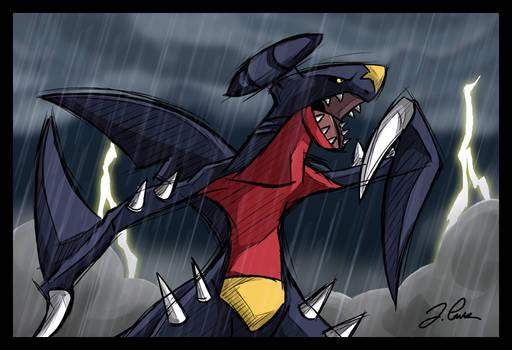 Garchomp, the Pirate Shark