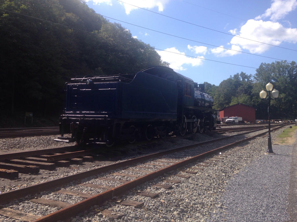 Reading and Northern #225 in Port Clinton, PA 1 by maxm2317