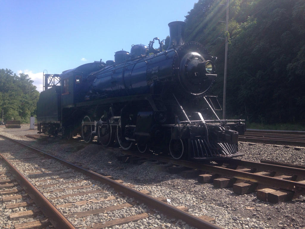 Reading and Northern 225 in Port Clinton, PA 2 by maxm2317