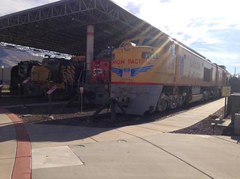 Utah State Railroad Museum Locomotive Roster Shot
