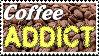 Coffee Addict Stamp