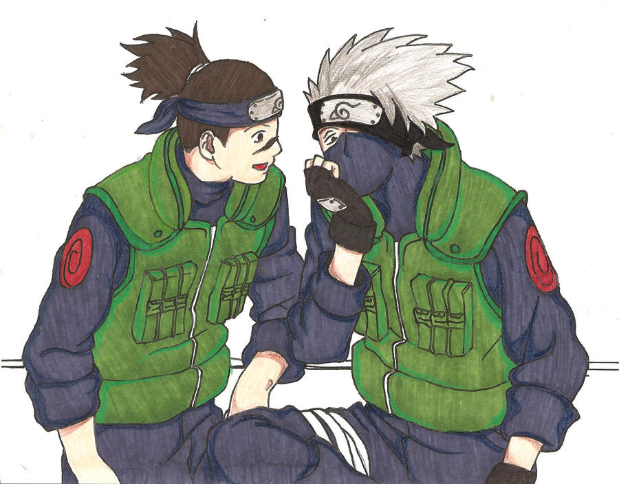 Kakashi and Iruka 2 by kayts99 on DeviantArt