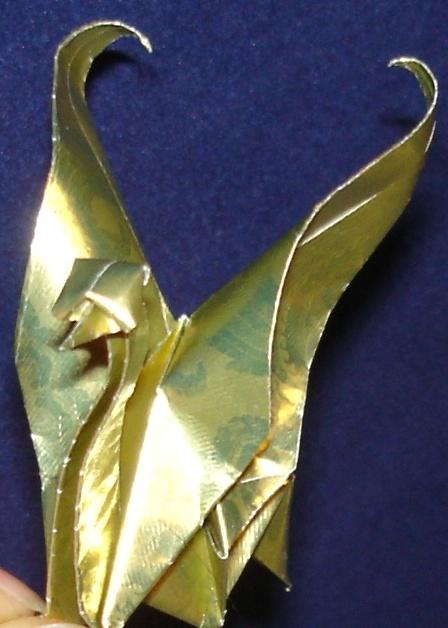origami crane variation by pandaraoke